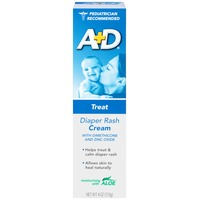 A+D Treat Diaper Rash Cream