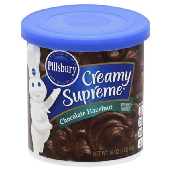 Pillsbury Creamy Supreme Frosting Chocolate Hazelnut