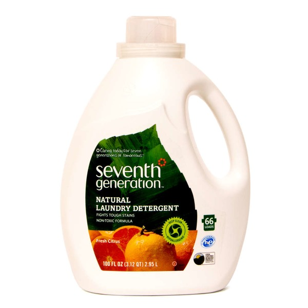Seventh Generation Fresh Citrus Natural Laundry Detergent