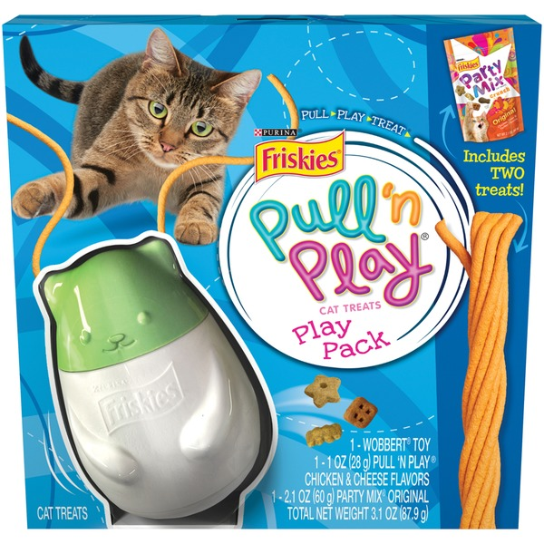 Friskies Treats Pull 'n Play Play Pack