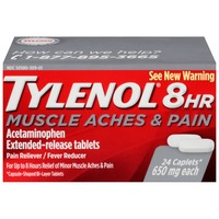 Tylenol® Caplets 8 Hour Muscles Aches & Pain