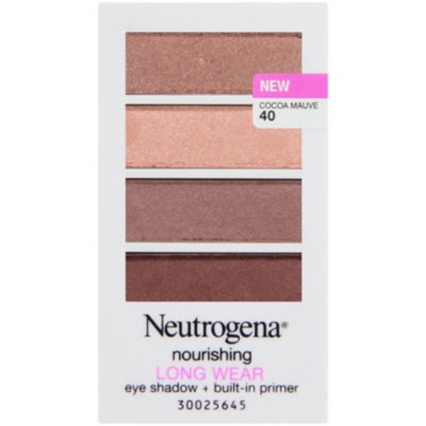 Neutrogena® 40/Cocoa Mauve Nourishing Long Wear Eye Shadow + Primer
