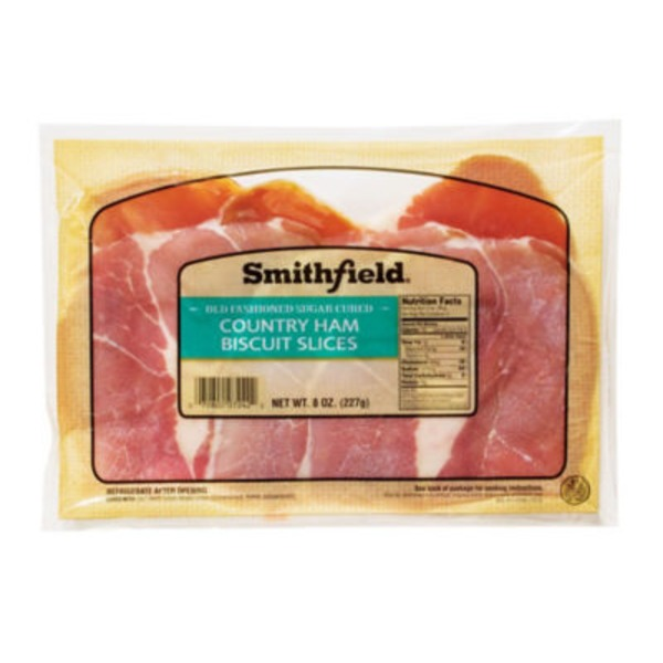 Smithfield Country Ham Biscuit Slices Old Fashioned Sugar Cured