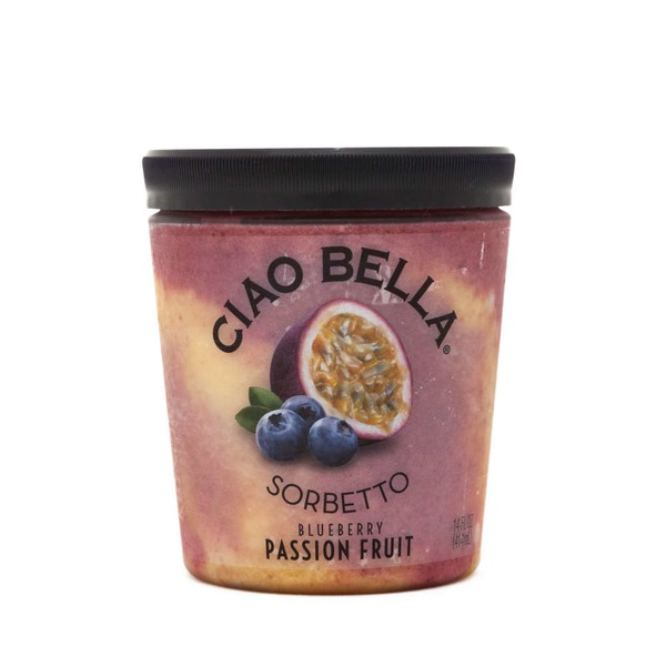 Ciao Bella Blueberry Passion Fruit Sorbetto