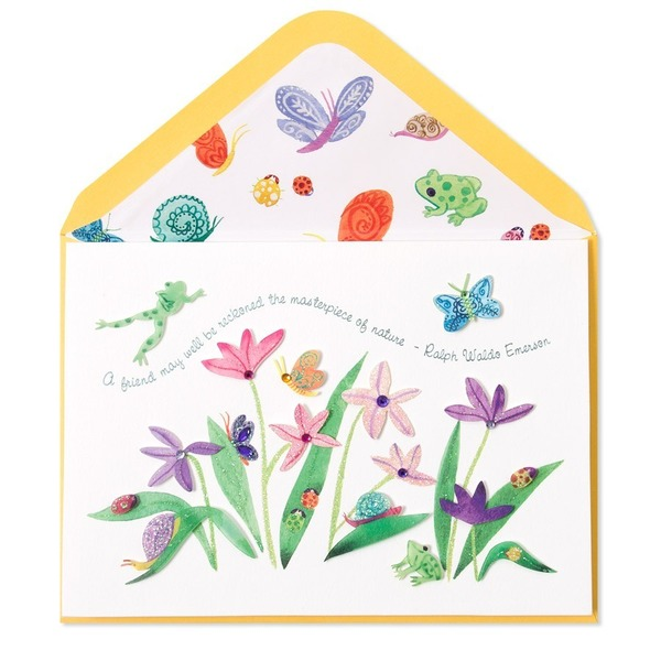 Papyrus Everyday Spring Flowers Card