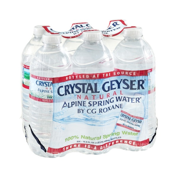 Crystal Geyser® Natural Alpine Spring Water