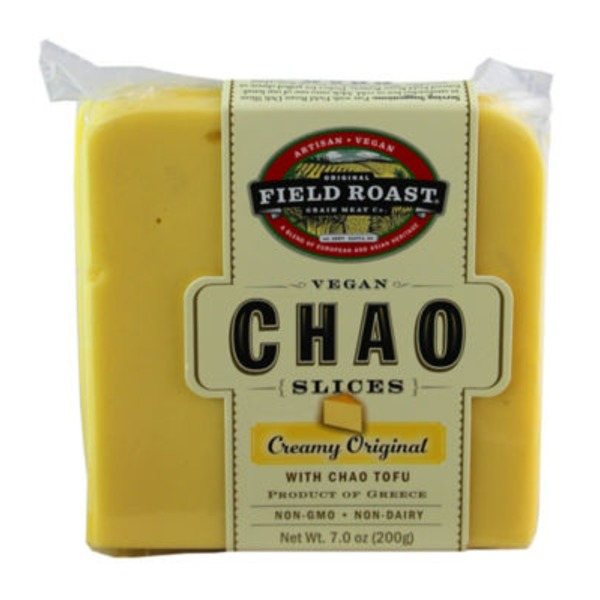 Field Roast Grain Meat Chao Vegan Slices Creamy Original