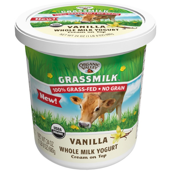 Organic Valley Vanilla Whole Milk Yogurt