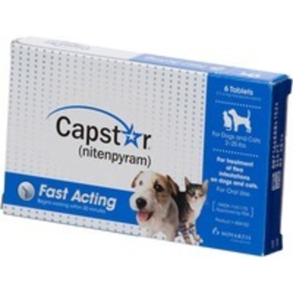 Capstar Flea Tablets For Dogs And Cats