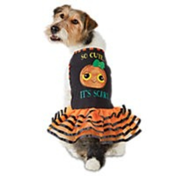 Large Halloween So Cute Scary Dress Kong