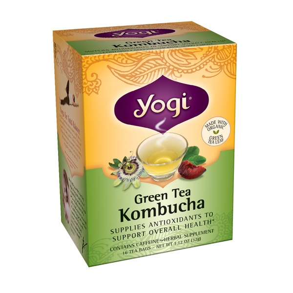 Yogi Green Tea Kombucha Tea Bags