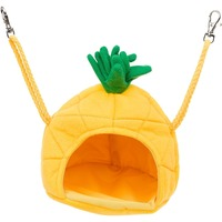 Multipet Medium Yellow Pineapple House Small Animal Hideaway 5.5