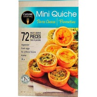 Cuisine Adventures Mini Quiche Assortment