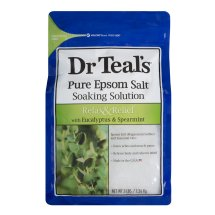 Dr Teal's Epsom Salt Soaking Solution with Eucalyptus Spearmint 3 lb.