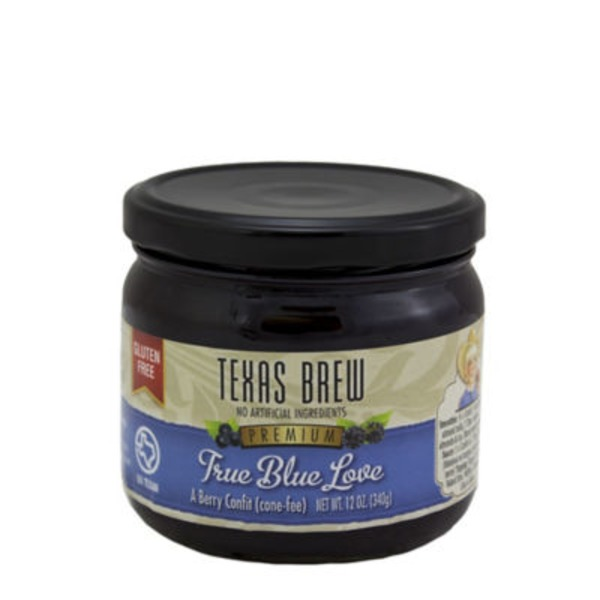 Texas Brew True Blue Love Blueberry Cooking Sauce