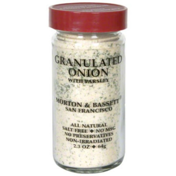 Morton & Bassett Spices Granulated Onion with Parsley