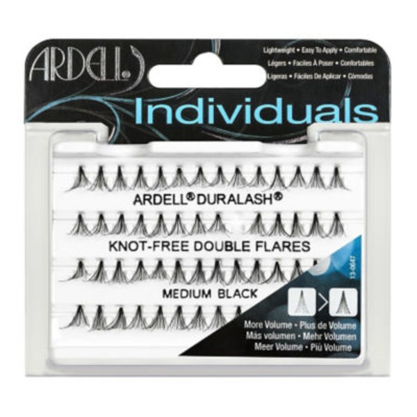 Ardell Individuals Knot Free Medium Black Double Flare Lashes