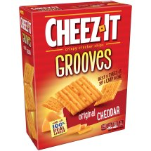 Cheez-It Grooves Baked Snack Crackers Original 9 oz
