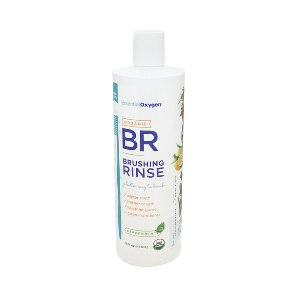 Essential Oxygen Organic Brushing Rinse Peppermint