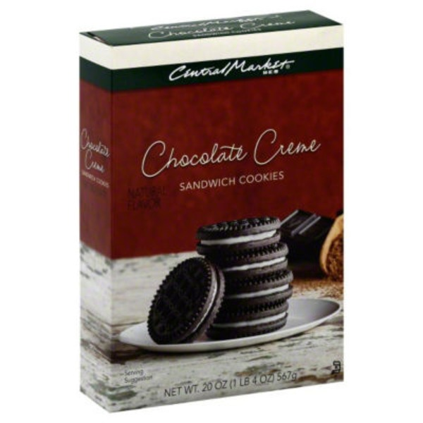 Central Market Chocolate Creme Sandwich Cookies