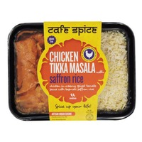 Cafe Spice Chicken Tikka Masala With Saffron Rice Medium