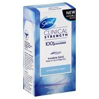 Secret Clinical Strength Completely Clean Invisible Solid Antiperspirant