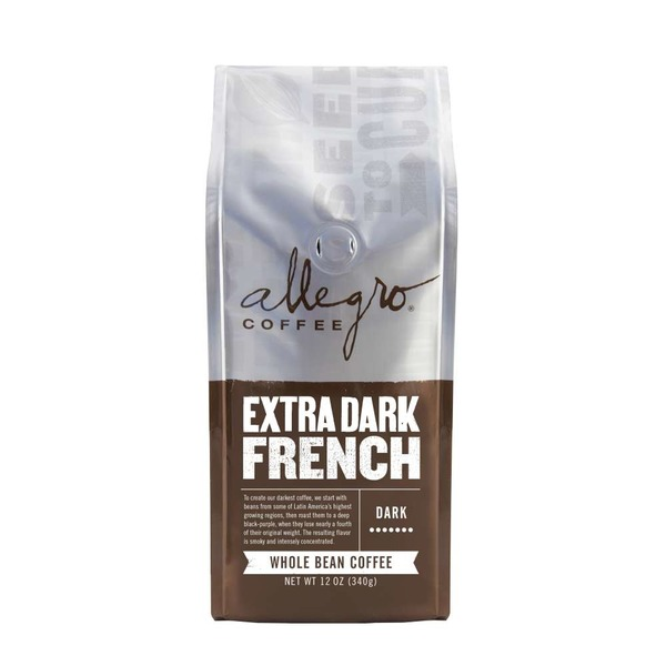 Allegro Extra Dark French Roast Ground Coffee