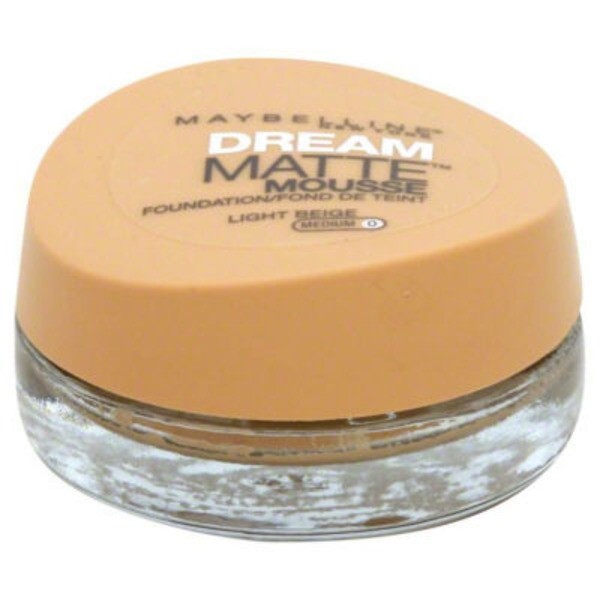 Dream Matte® Mousse Light Beige Foundation