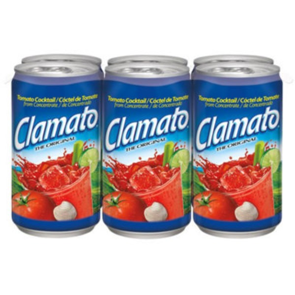 Clamato The Original Tomato Cocktail Regular Juice Drink