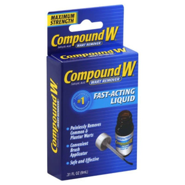 Compound W Maximum Strength Fast Acting Liquid Wart Remover
