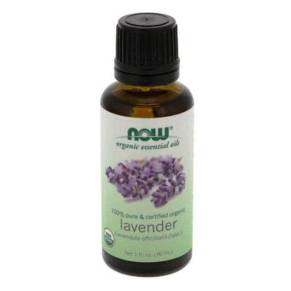 Now Organic Essential Oils, Pure, Lavender, Bottle