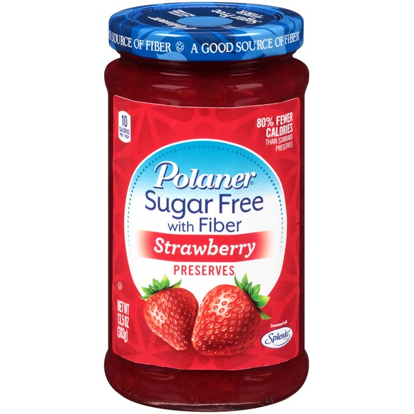 Polaner Strawberry Sugar Free with Fiber Preserves