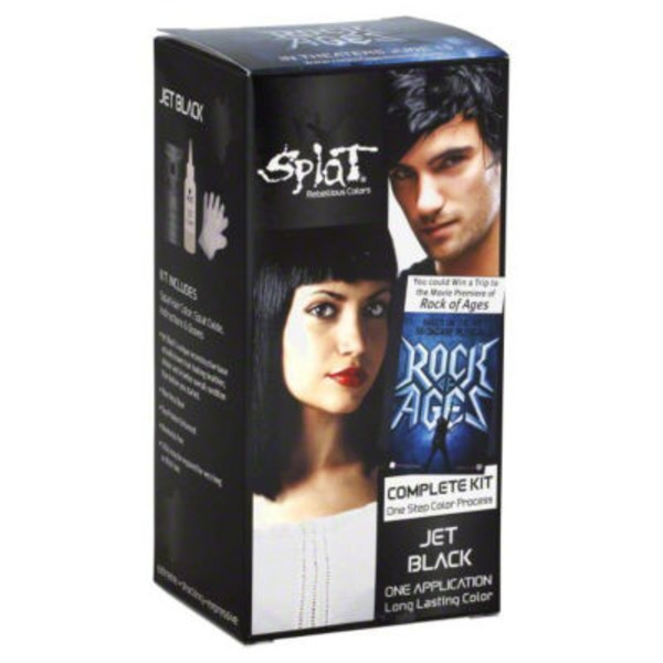 Splat Jet Black Long Lasting Hair Color