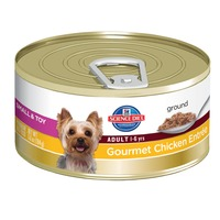 Hill's Science Diet Small & Toy Breed, Chicken & Barley Entree