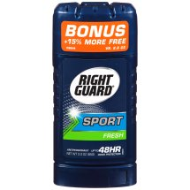Right Guard Sport Antiperspirant Deodorant Invisible Solid Stick, Fresh, 2.6 Ounce