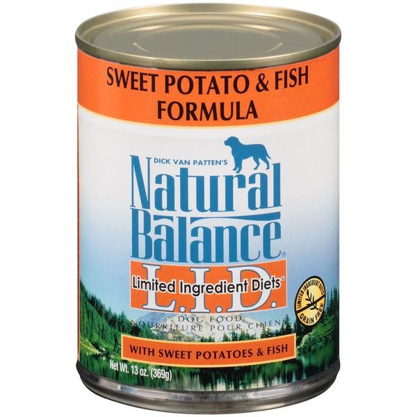 Natural Balance Limited Ingredient Diets Sweet Potato & Fish Formula Dog Food