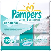 Pampers Sensitive Pampers Baby Wipes Sensitive 3X 168 count  Baby Wipes