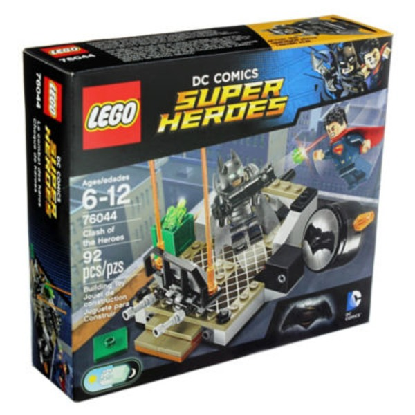 Lego Dc Comics Super Heroes Clash Of The Heroes