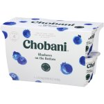 Chobani® Non-Fat Greek Yogurt, Blueberry on the Bottom 5.3oz, 4-pack