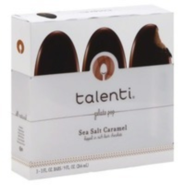 Talenti Sea Salt Caramel Pops
