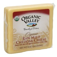 Organic Valley Raw Mild Cheddar Cheese