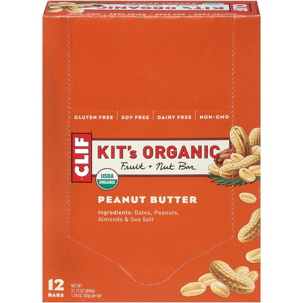 Kit's Organic Fruit & Nut Bar, Peanut Butter Fruit + Nut Bar
