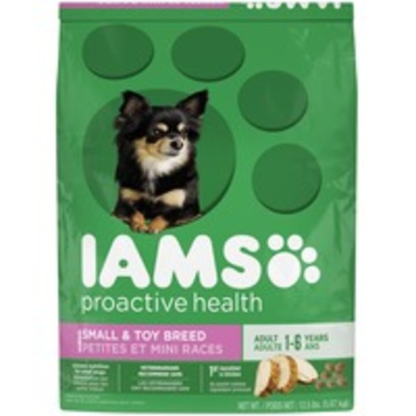 Iams ProActive Health Small & Toy Breed Adult Dog Food