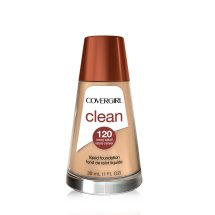 COVERGIRL Clean Makeup Foundation, Creamy Natural 120, 1 oz