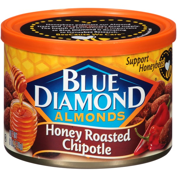 Blue Diamond Almonds Honey Roasted Chipotle Almonds