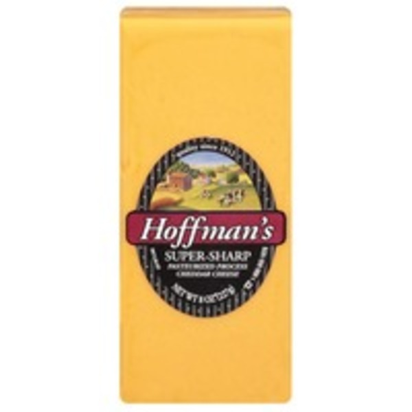 Hoffman's Super-Sharp Cheddar Cheese