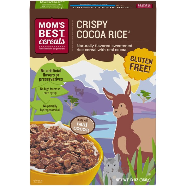 Mom's Best Cereals Crispy Cocoa Rice Cereal