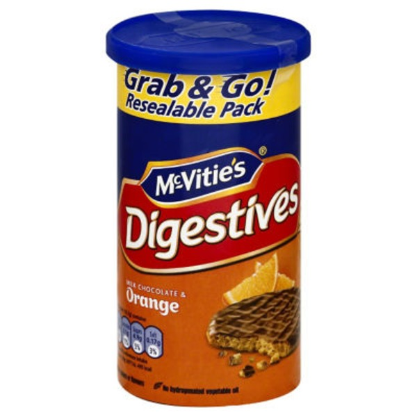 McVitie's Digestives Milk Chocolate & Orange Grab & Go