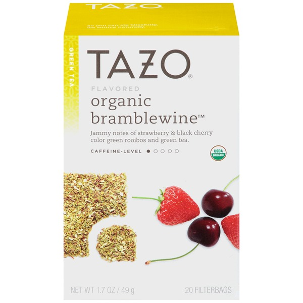 Tazo Tea Organic Bramblewine Green Tea