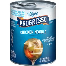 Progresso Soup, Low Fat Light, Chicken Noodle Soup, 18.5 oz Can, 18.5 OZ